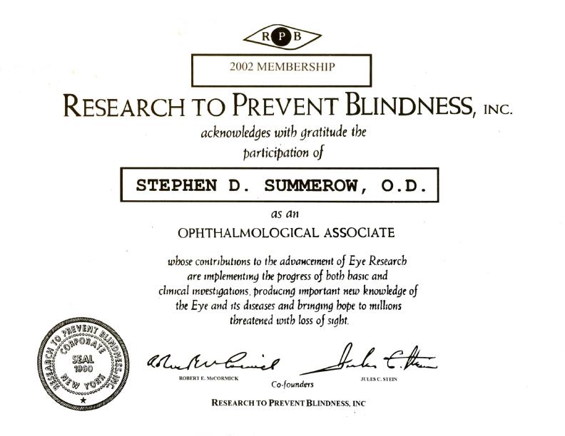 drsummerow_research2preventblidness_cert